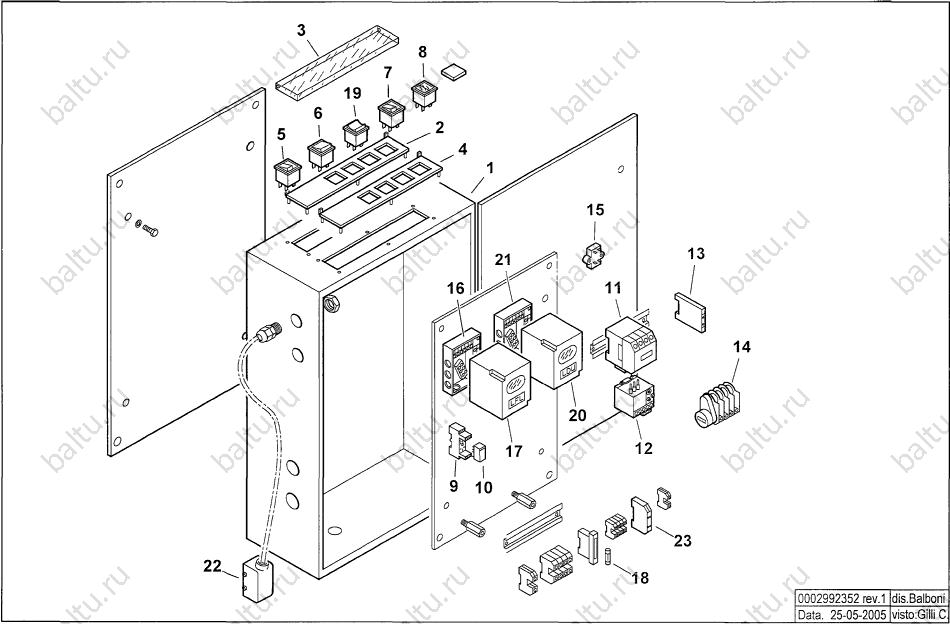 характеристики вентиляторов горелки comist 250 dspgm baltur